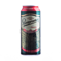 Пиво Staropramen Prague Premium 0,5л ж/б
