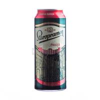 Пиво Staropramen Prague Premium 0,5л з/б