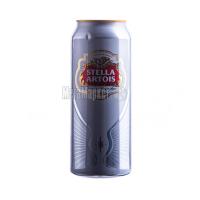 Пиво Stella Artois з/б 0.5л