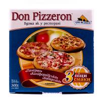 Піца Три Ведмеді Don Pizzeron 3шт 300г х6.
