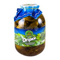 Огірки Дари ланів консерв. 3л