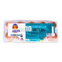 Яйця курячі Від Доброї курки Київські 10шт х30