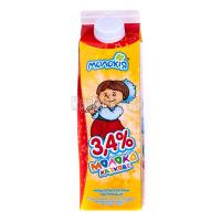 Молоко Молокія (В) Казкове 3,4% 930г х10