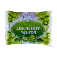 Цукерки Roshen Рошен-Евкаліпт-Ментол карамель 300г х25