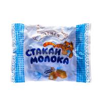 Цукерки Roshen Стакан молока з мол.начинкою 250г х18
