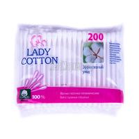 Палички Lady Cotton ватні гігієнічні 200шт х6