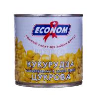 Кукурудза Econom цукрова 400г