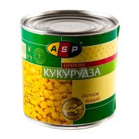 Кукурудза ASP цукрова 425г