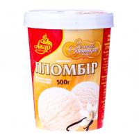 Морозиво Ажур Пломбір ваніль 500г х36