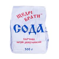 Сода Щедрі брати харчова 500г х6