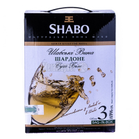 Вино Шабо Шардоне біле сухе 3л х2
