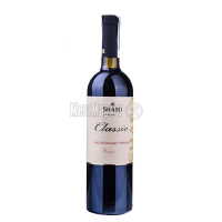 Вино Шабо Класика червоне нап/сол. 0,75л
