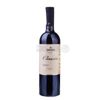 Вино Шабо Класика Мерло червоне сухе 0,75л х6