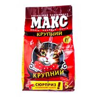 Наповнювач для котів Макс великий 5кг х6