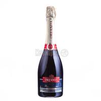Вино ігристе Oreanda червоне напівсолодке 0.75л х6