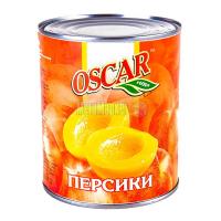 Персики Oscar у сиропі ж/б 850мл