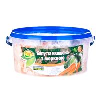 Капуста Ольвита квашена з морквою 400г х12