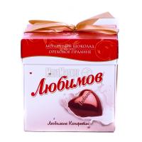 Цукерки Любимов Горіхове праліне 208г x6