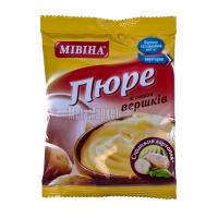 Пюре Мивина картопляне вершки пакет 37гр х12
