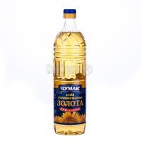 Олія соняшникова Чумак Золота рафінована 1л