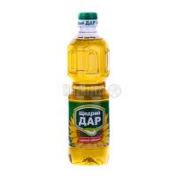 Олія соняшникова Щедрий дар нерафінована 0,5л