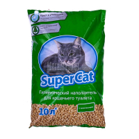 Наповнювач для котів Супер Кет зел. 3кг х6.