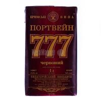 Вино Кримські вина Портвейн 777 червоний 1л B&B х6