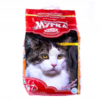 Наповнювач для котів Мурка з ароматизат.2,5-5,0мм 5кг х6.