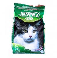 Наповнювач для котів Мурка з ароматизатором0,8-1,5мм 5кг х6.