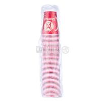 Склянки одноразові Bonum паперові 250мл 50шт х6
