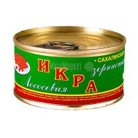 Ікра лососева Сахалінська зерниста 120г ж/б