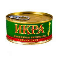 Ікра лососева Камчатська зерниста 100г ж/б
