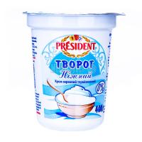 Крем President сирковий Ніжний 0,2% 400г