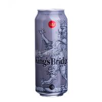 Напій Kings Bridge Джин Тонік 7% з/б 0,5лх6