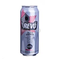 Напій енергетичний Revo Alco 8,5% ж/б 0,5л х12