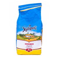 Борошно Хуторок пшеничне в/г 2кг х10