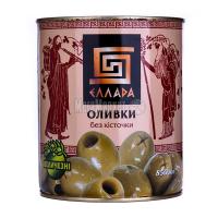 Оливки Еллада без кісточки 850мл з/б