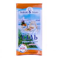 Сіль Salute di Mare морська дрібна з ламінарією 750г