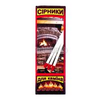 Сірники Україна для каміну 25шт арт.280068 х12