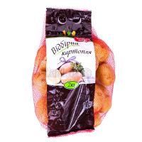 Картопля Овочиста відбірна 2кг / шт