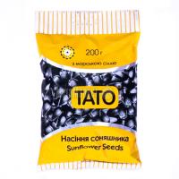 Насіння ТАТО соняшника смажене покрите сіллю 200г х20
