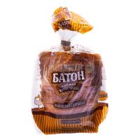 Хліб Київхліб Батон Київський наріз. скиб.250г в упакуванні