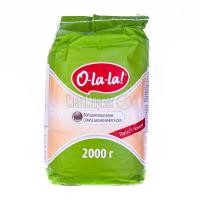 Борошно O-la-la пшеничне грубого помелу 2кг х6