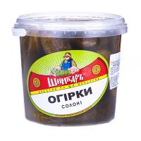 Огірки Шинкарь солоні 1000г х12