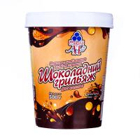 Морозиво Рудь Шоколадний грильяж 500г