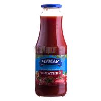Сік Чумак томатний свіжовіджатий 1л с/б х12
