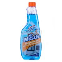 Засіб Johnson Mr.Muscle для вікон зі спиртом 500мл х6