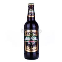 Пиво Львівське Портер темне пастеризоване 8% с/б 0.5л