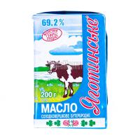 Масло Яготин солодковершкове 69,2% 200г
