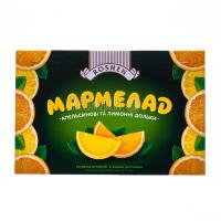 Мармелад Roshen Апельсинові та лимонні дольки 250г х8